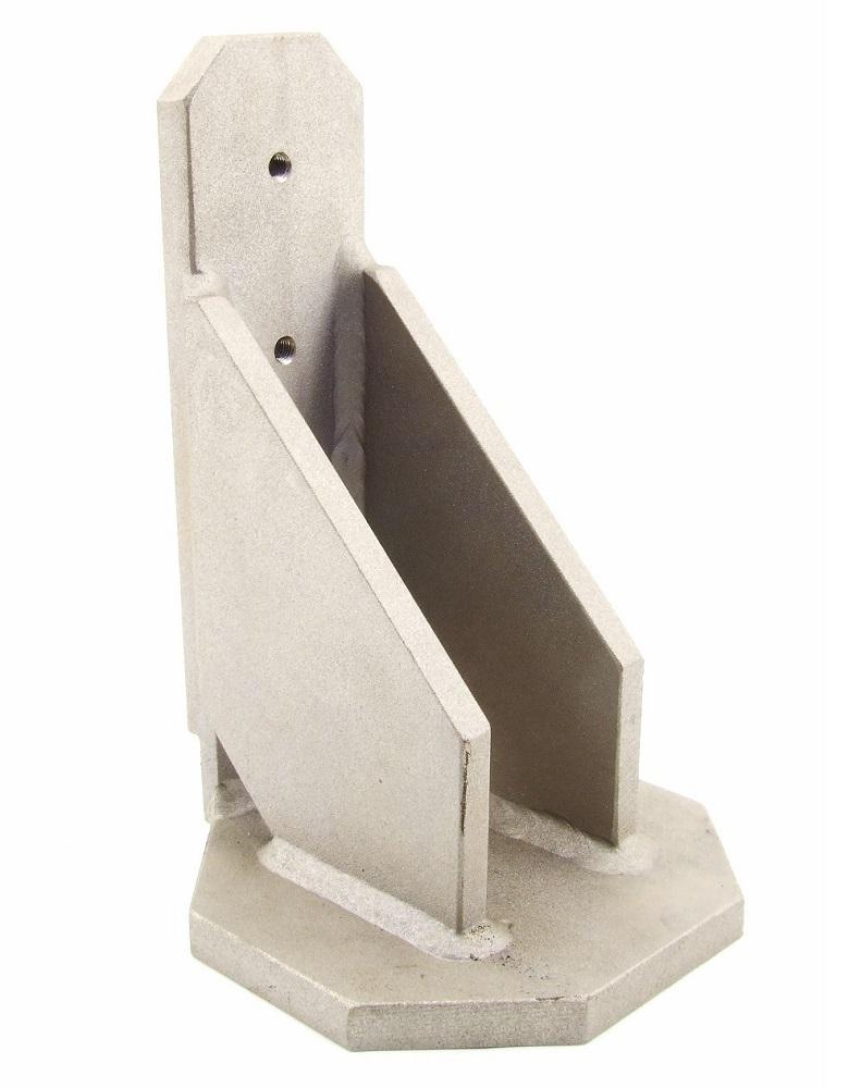 Maschinen Stand-Fuß Stahl Schuhe Stellfuß Ständer Metall Halterung Wandhalterung 4060787274687