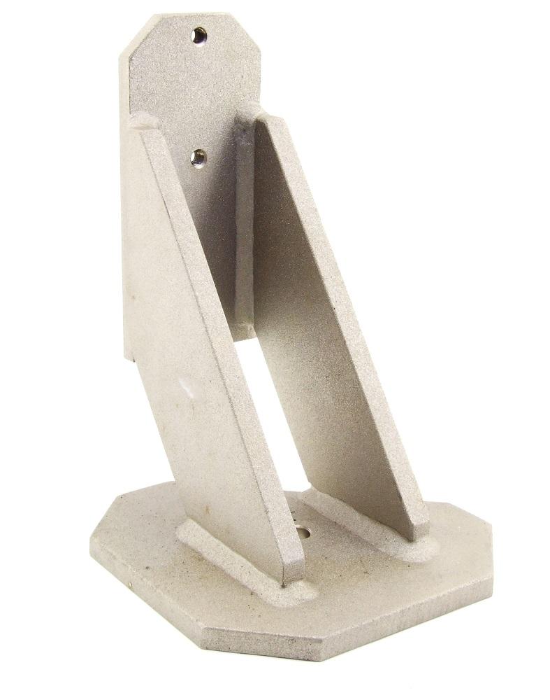 Stand-Fuß Stahl beschichtet Halterung Wandhalterung Fuß Stand Wall Mount Steel 4060787274762
