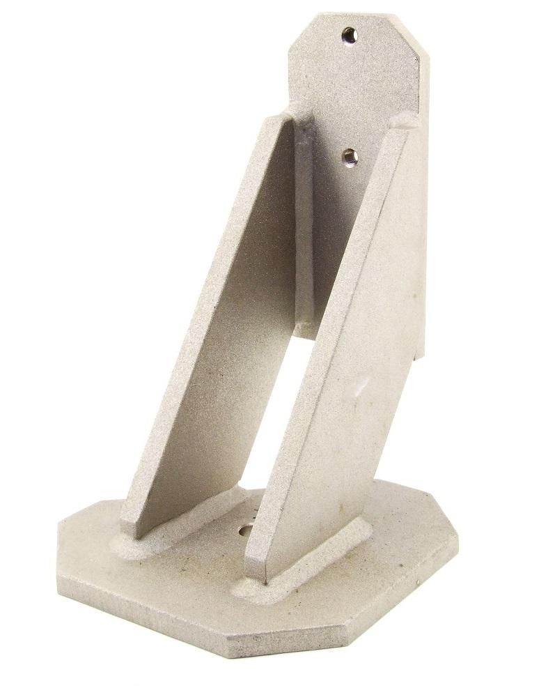 Industrie Maschinen Halterung Stellfüße Stand-Fuß Stahl massiv beschichtet Fuß 4060787274779
