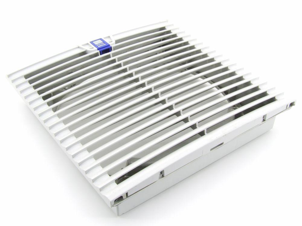 Rittal SK 3244.100 Lüftungs-Gitter Lüfter Rahmen Filter Fan Grill Grid 324x324mm 4060787274908