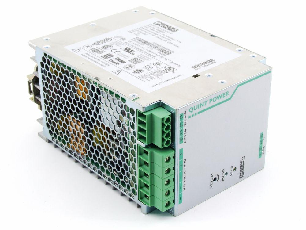 Phoenix Contact Quint Power Supply 24V DC 40A Netzteil Strom-Versorgung 2866802 4060787275028