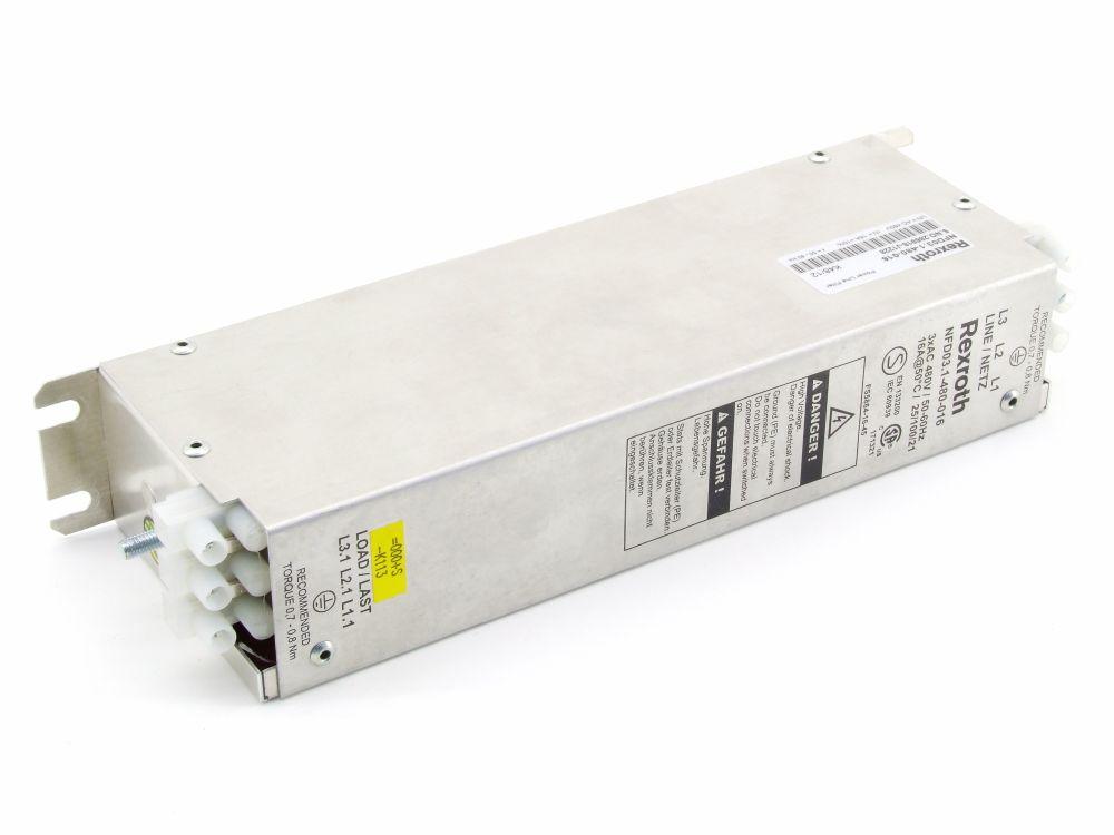 Bosch Rexroth Indramat Power Line Filter Netz-Filter 3x 480V 16A NFD03.1-480-016 4060787275097