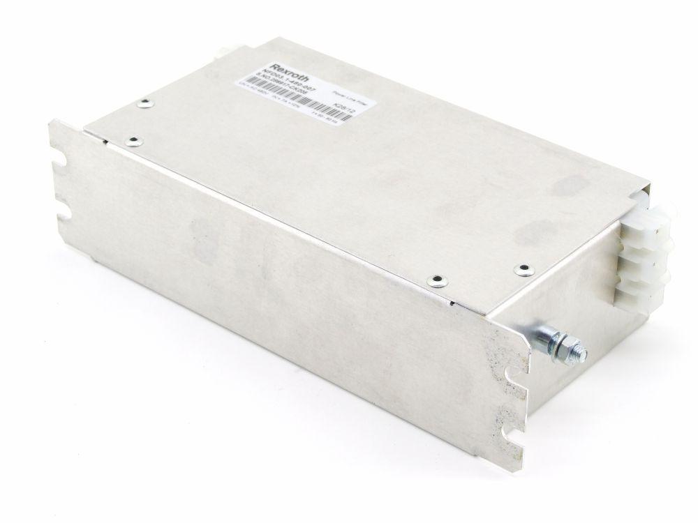 Bosch Rexroth Indramat Power Line Filter Netzfilter 3x 480VAC 7A NFD03.1-480-007 4060787275080