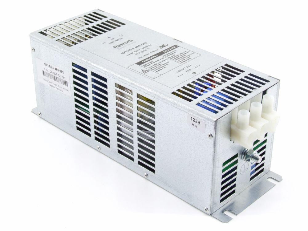 Bosch Rexroth Indramat Power Line Filter Netz-Filter 3x 480V 55A NFD03.1-480-055 4060787275004