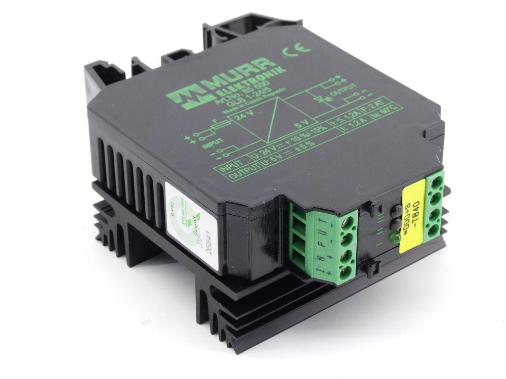 Murrelektronik 85 600 GLS 1-24/5 DC to DC Converter DC/DC Wandler 24V to/zu 5V 4060787275325