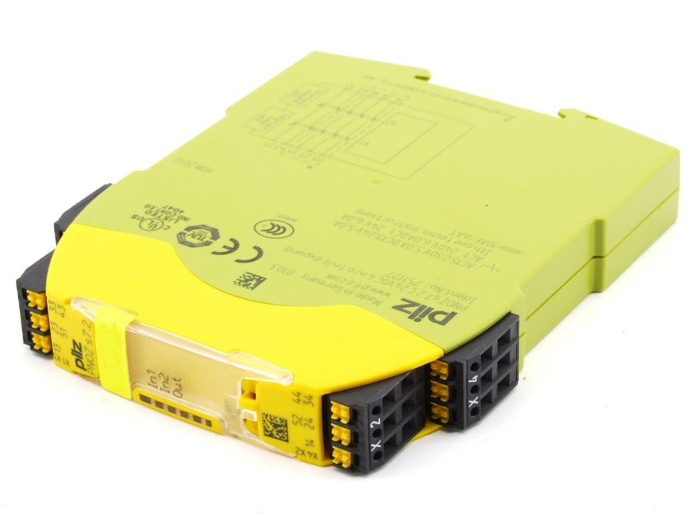 Pilz PNOZ s7.2 Sicherheits-Relais Safety Relay C 24VDC 4n/o 1n/c expand 751177 4060787275769
