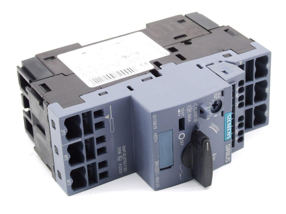 Siemens Sirius Leistungsschalter 14-20 Ampere Motorschutzschalter 3RV2021-4BA20 4011209724440
