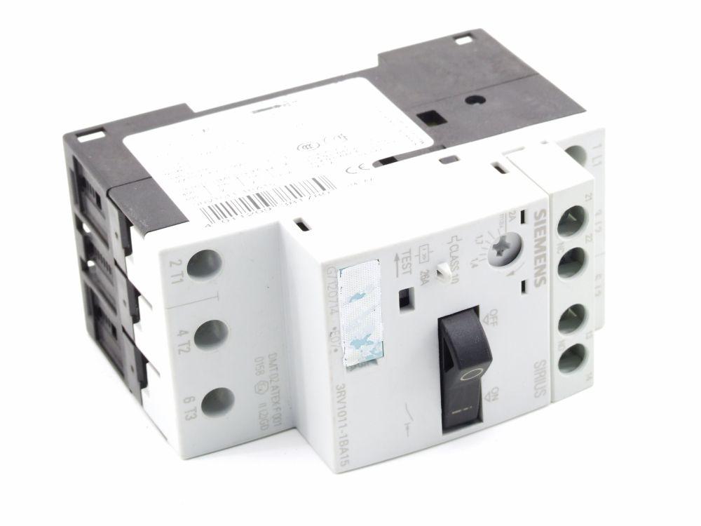 Siemens Sirius Leistungs-Schalter Motor Schutz-Schalter Breaker 3RV1011-1BA15 4011209381780