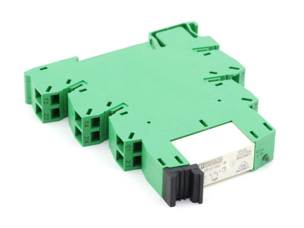 Phoenix Contact 29 61 192 24V Relais + Socket Sockel PLC-BSP240C/21-21 29 12 439 4060787275912