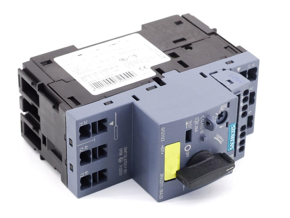 Siemens Sirius Leistungs-Schalter 1.4-2A Motor Circuit Breaker 3RV2011-1BA20 4011209724549