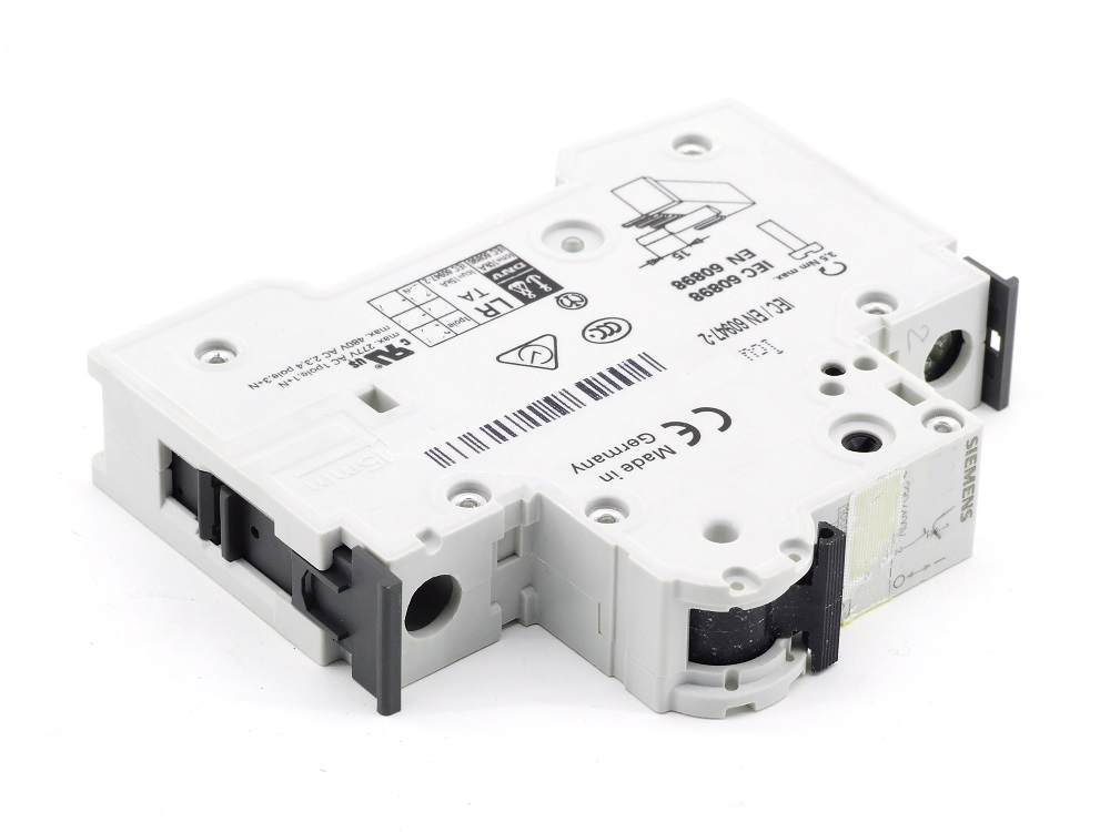 Siemens 5SY61 MCB C1 Leitungsschutzschalter 1A 230/400 Circuit Breaker 5SY6101-7 4001869245980