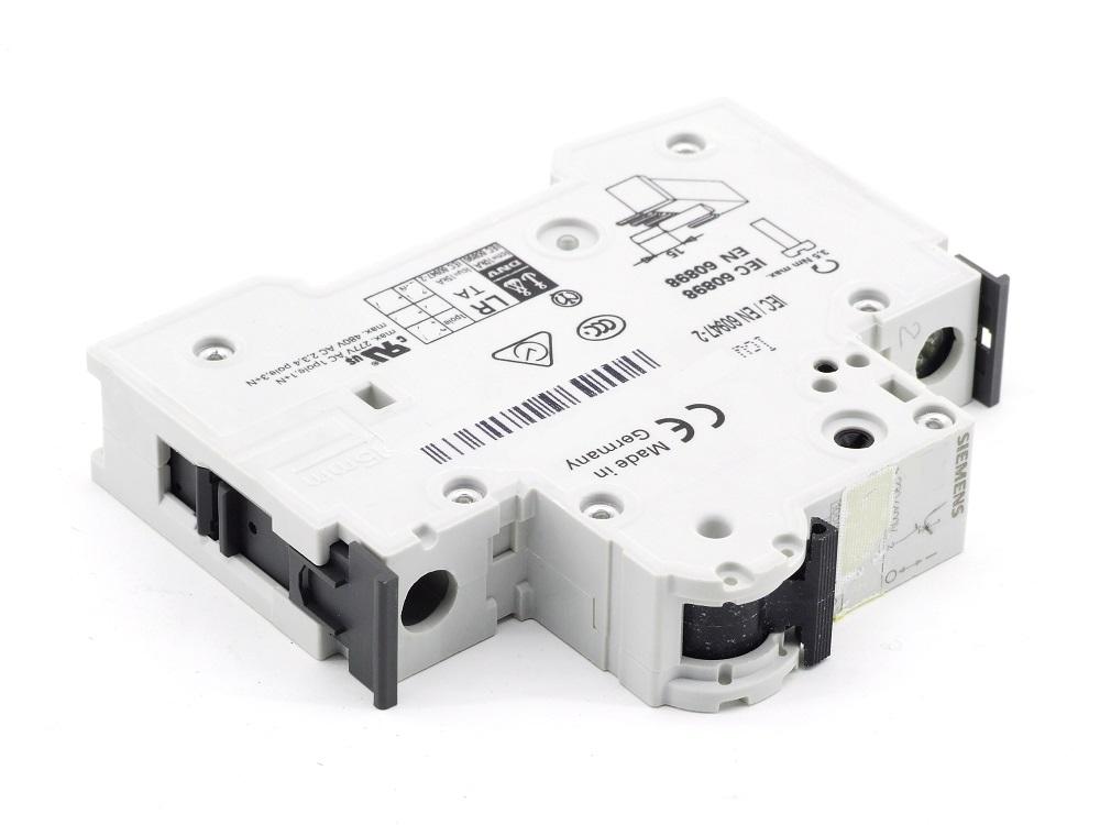 Siemens 4A Amp Leitungs-Schutzschalter Circuit Breaker 230/400 Volt 5SY61 MCB B4 4001869325903