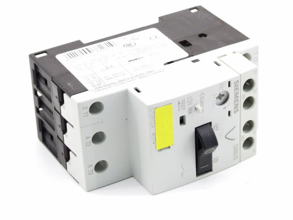 Siemens 3RV1011-1EA10 Leistungsschalter Motorschutzschalter Breaker 2.8-4 Ampere 4011209381810