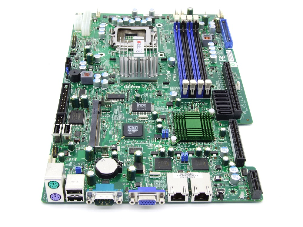 Supermicro X7SBU Socket Sockel LGA775 Xeon Server Mainboard DDR3 PCIe VGA 2x LAN 4060787281258