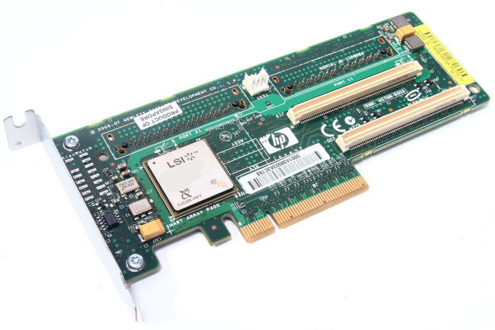 HP 405831-001 Smart Array P400 RAID Controller PCIe PCI-E Low Profile LSISAS1078 4060787281845