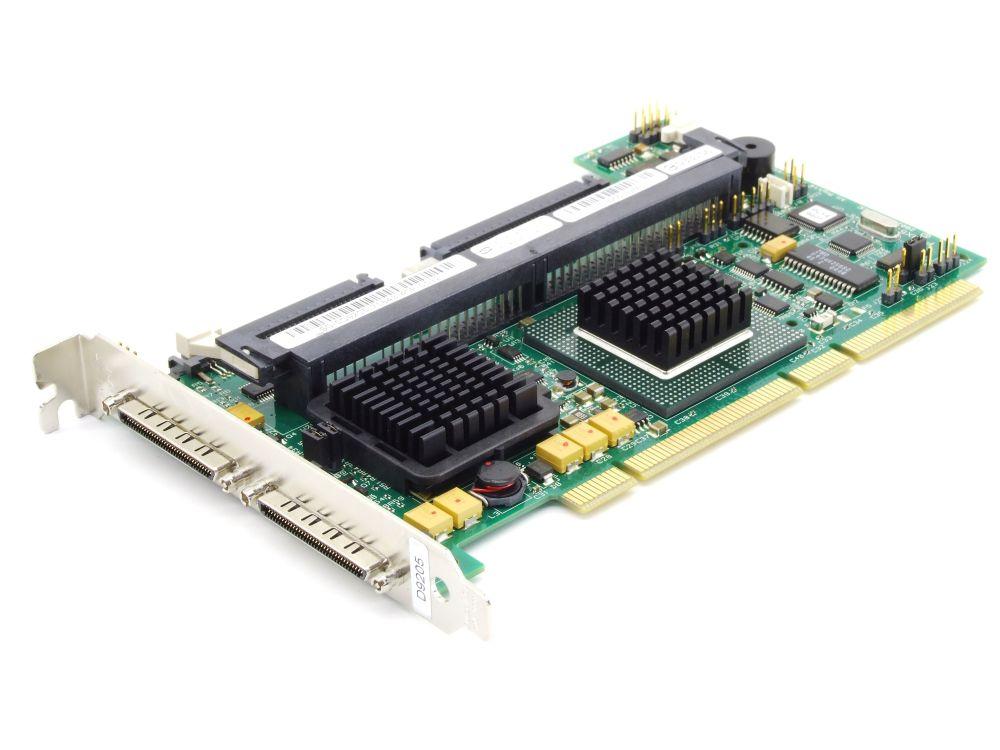 Dell 0D9205 0J4717 PERC4 Dual Channel SCSI RAID Controller PCI-X LSI PCBX518-B1 4060787282859