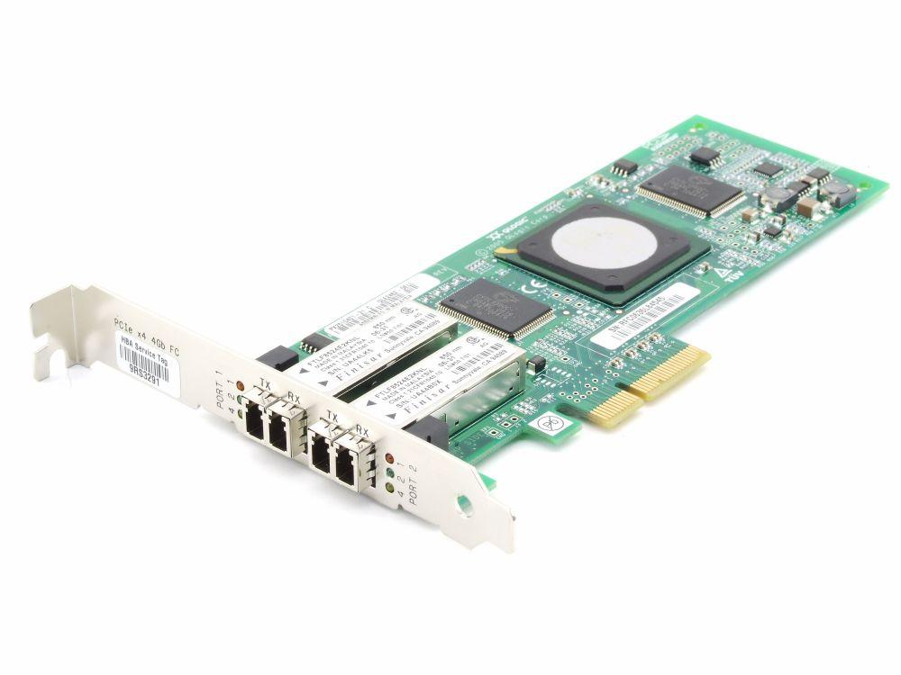 Dell 0JF340 Dual Port Fibre Channel FC Card 850nm PCIe x4 PX2510401-21 C QLE2462 4060787283009