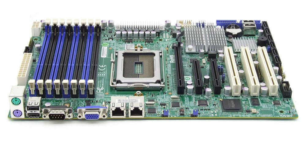 Supermicro H8SGL-B ATX Server Mainboard Motherboard G34 DDR3 S-ATA PCI-Express 4060787284518