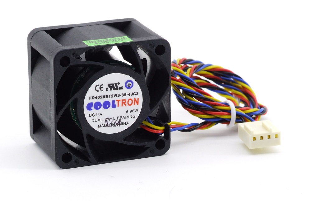 new Cooltron FD4028B12W3-85-4JC3 Cooling Fan Lüfter 40mm 4cm DC 12V 6.96W 4-Pin 4060787284822