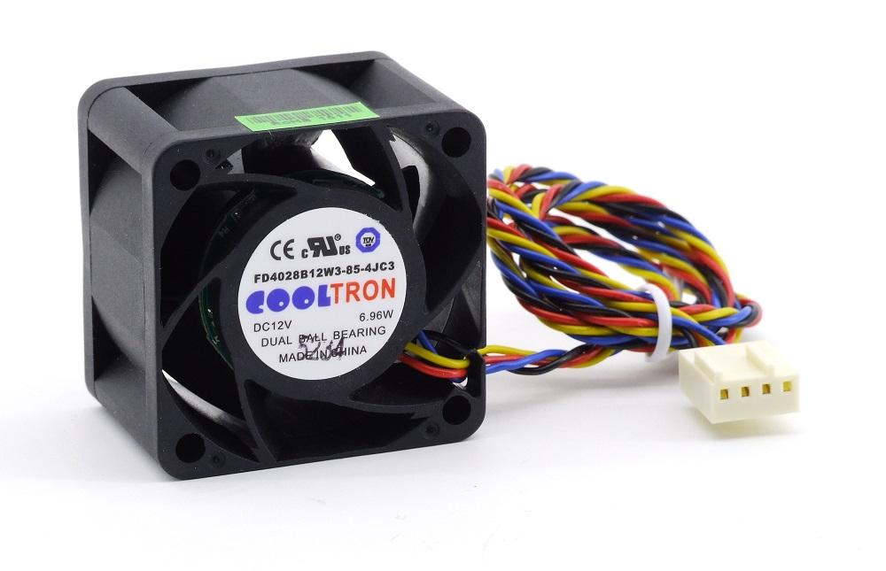 40mm 1U Server CPU Case Chassis Cooling Fan Prozessor-Lüfter DC 12V 6.96W 4-Pin 4060787284846
