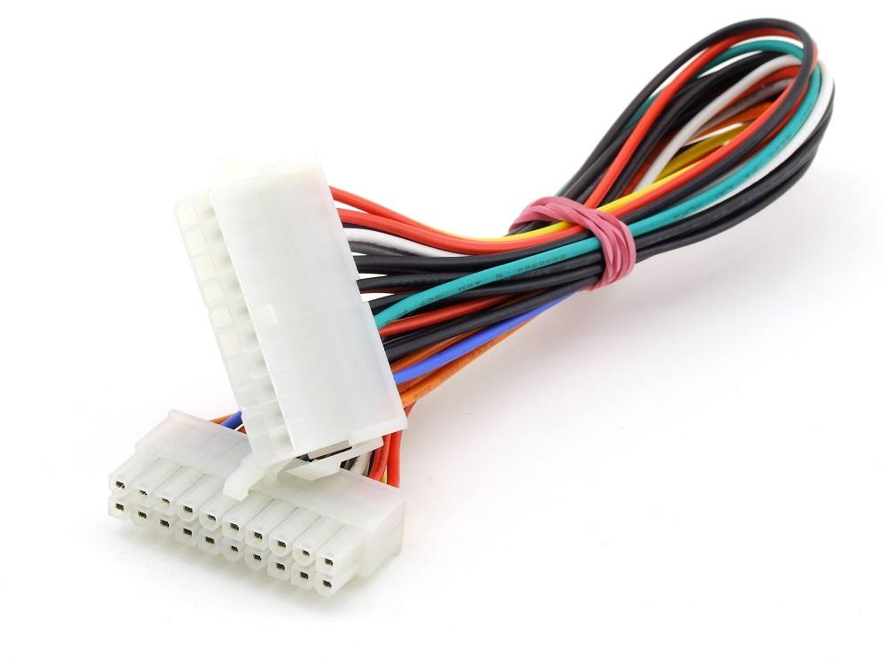 ATX 20-Pin Power Supply Netzteil to/zu Motherboard Kabel Verlängerung Cable 27cm 4060787285027