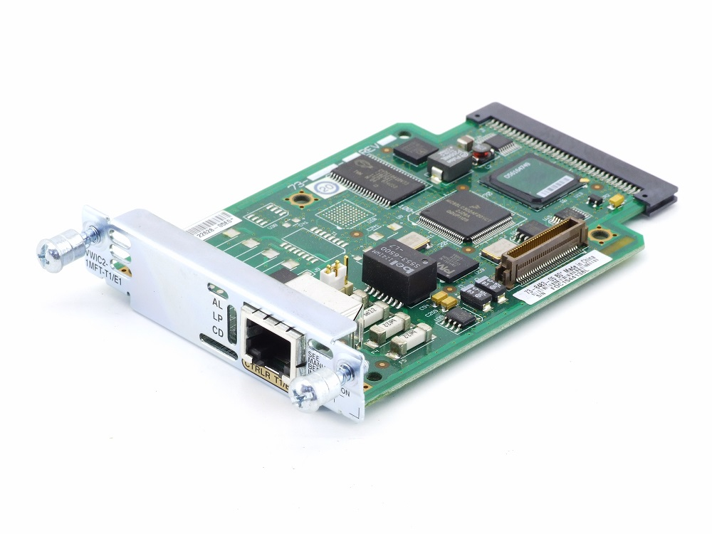 Cisco 73-8483-05 B0 Voice Interface EHWIC Router Card VWIC2-1MFT-T1/E1 1921 1941 4060787285164