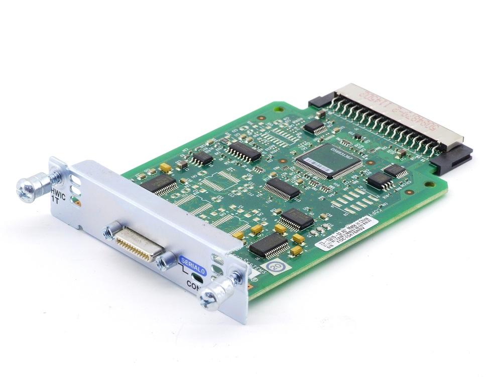 Cisco HWIC-1T 1-Port Serial WAN Router Interface Card 1921 1941 P/N 73-13315-02 4060787285171