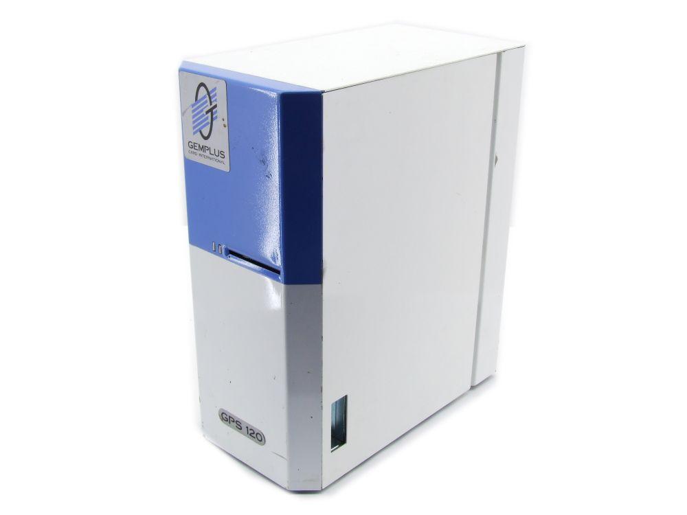 Gemplus GPS 120 Thermo Ausweis Plastikkarten Karten Drucker ID Card Printer 4060787286987