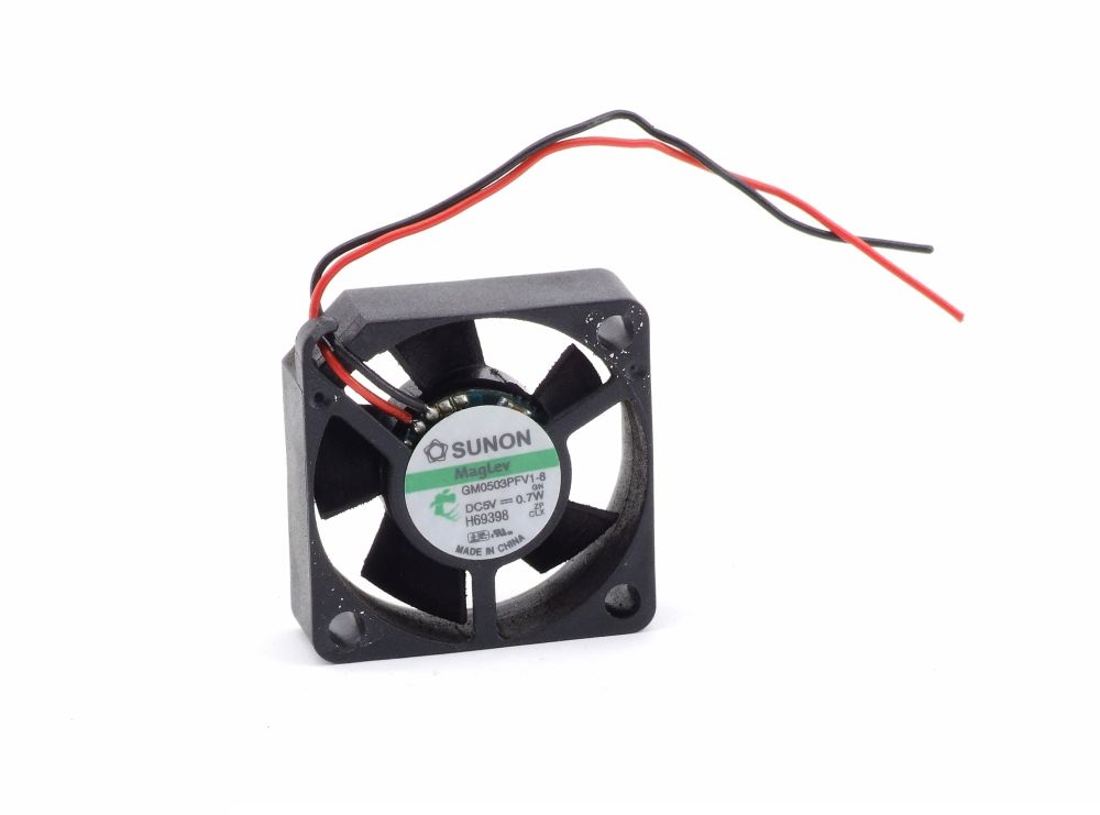 Sunon MagLev GM0503PFV1-8 30x30x10mm Mini Cooling Fan Lüfter DC 5V 0.7W 2-Wire 4060787287267