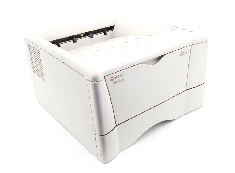 Kyocera FS-1000 Monochrome Laser Drucker Printer LPT Parallel 16609 Seiten/Pages 4060787289407