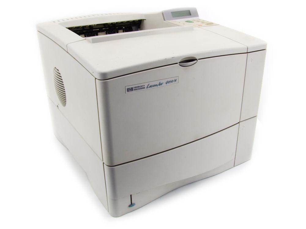 HP LaserJet 4050N Mono Laser Network Printer S/W Netzwerk Drucker COM LPT LAN 88698769966