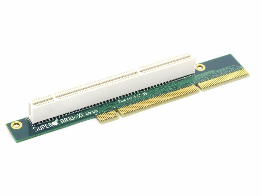 new Supermicro RR1U_Xi Single Slot PCI-X 64bit Server 1U 1HE Riser Card Board 4060787288783