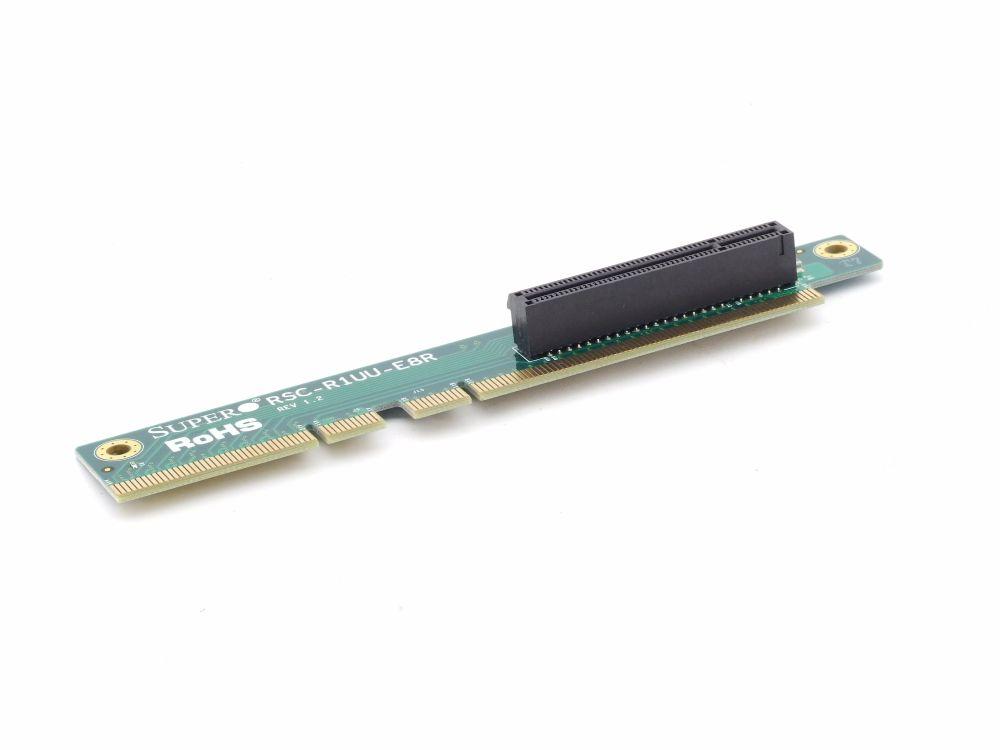 Supermicro RSC-R1UU-E8R PCI-E x8 1U 1HE Server Riser Card Board PCI Express neu 4060787289100