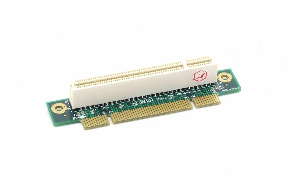 new Emko JM101 Single Slot PCI Riser Card Board EM-161 Server Chassis Case neu 4060787288899