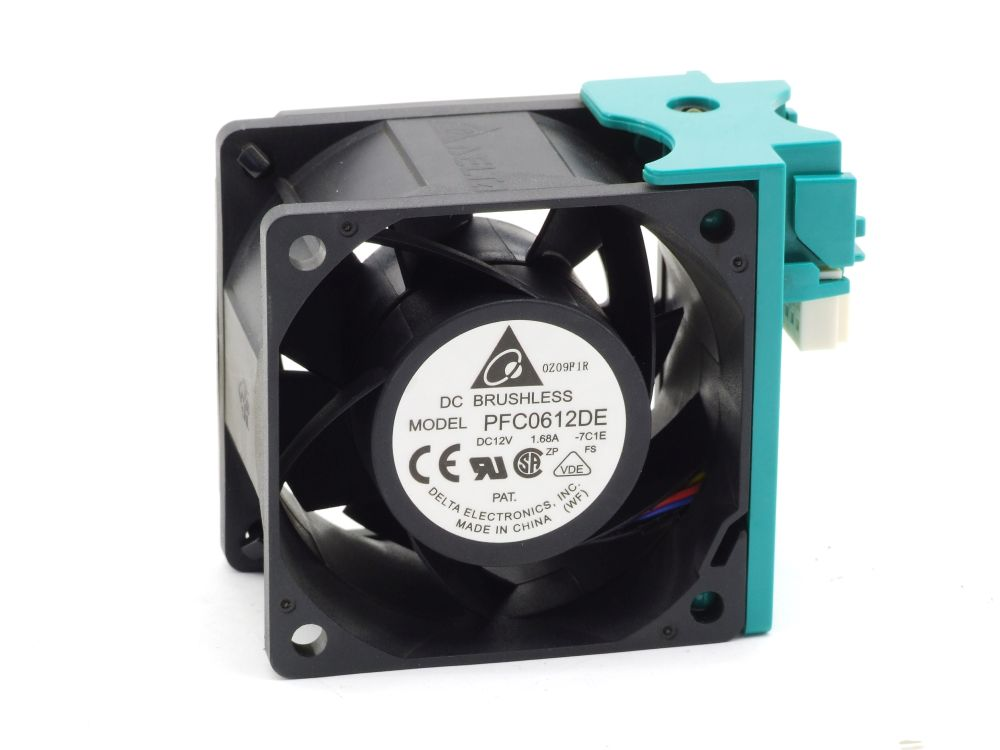 Delta PFC0612DE Cooling Fan Lüfter 12V 1.68A Intel SR2525 SR2625 Server Chassis 4060787291165