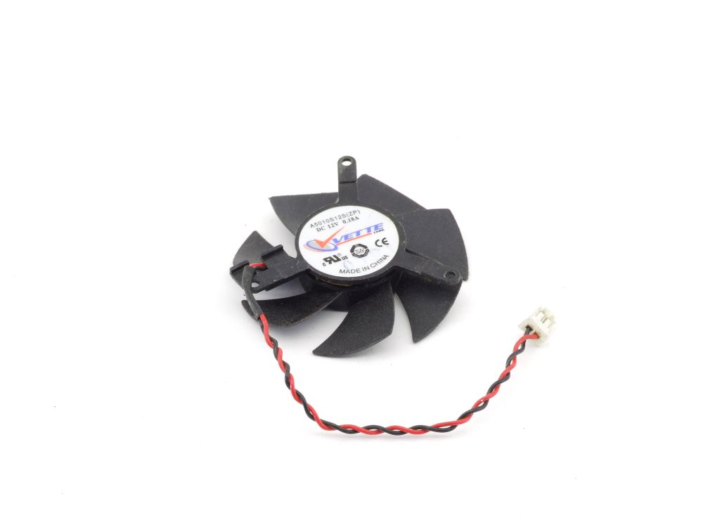 Vette A5010S12S(ZP) 45mm Graphics Card Fan Grafikkarten-Lüfter 12V 0.18A 2-Pin 4060787293800