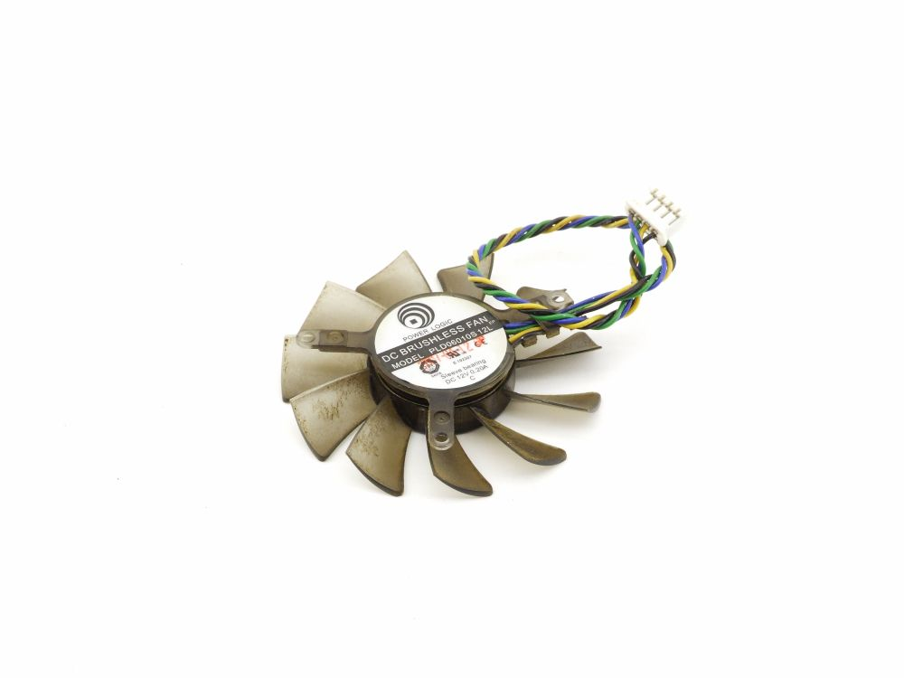 Power Logic PLD06010S12L 55mm Graphics Card Fan Lüfter 4-Pin Connector 12V 0.20A 4060787294326
