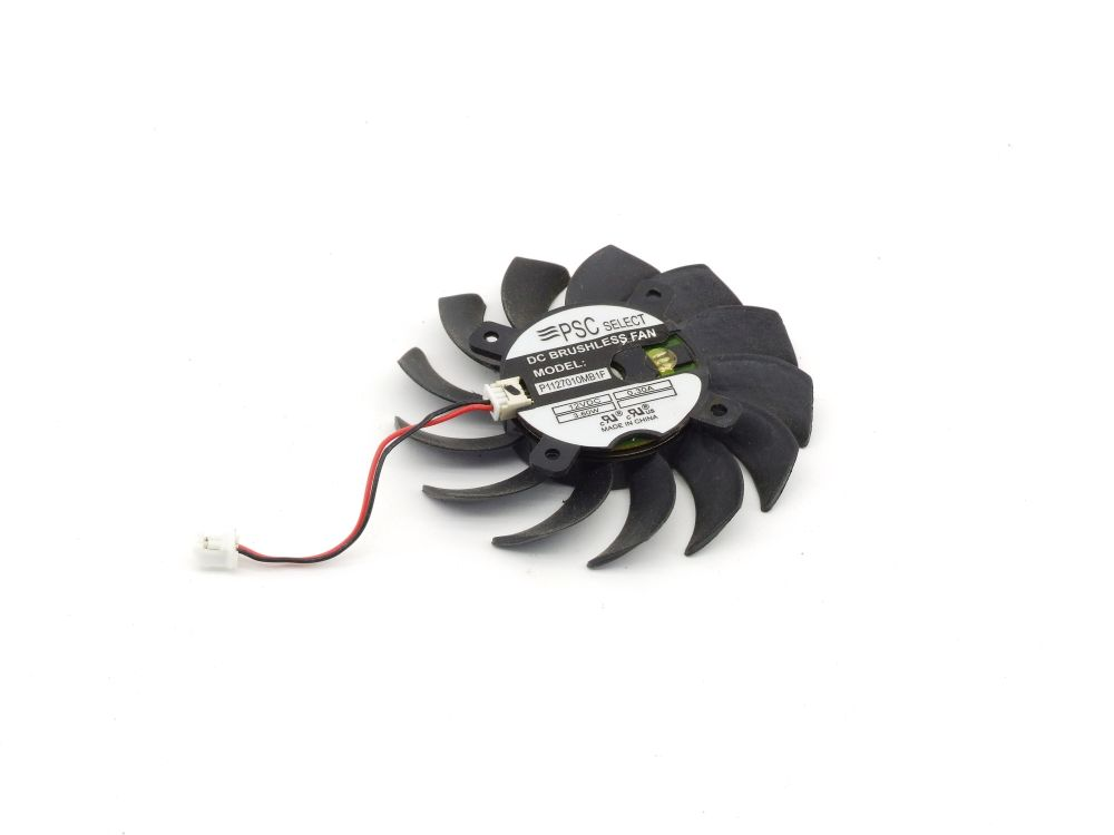 PSC Select P1127010MB1F PC Graphics Card Fan Lüfter 65mm 12V DC 0.30A 3.6W 2-Pin 4060787294913