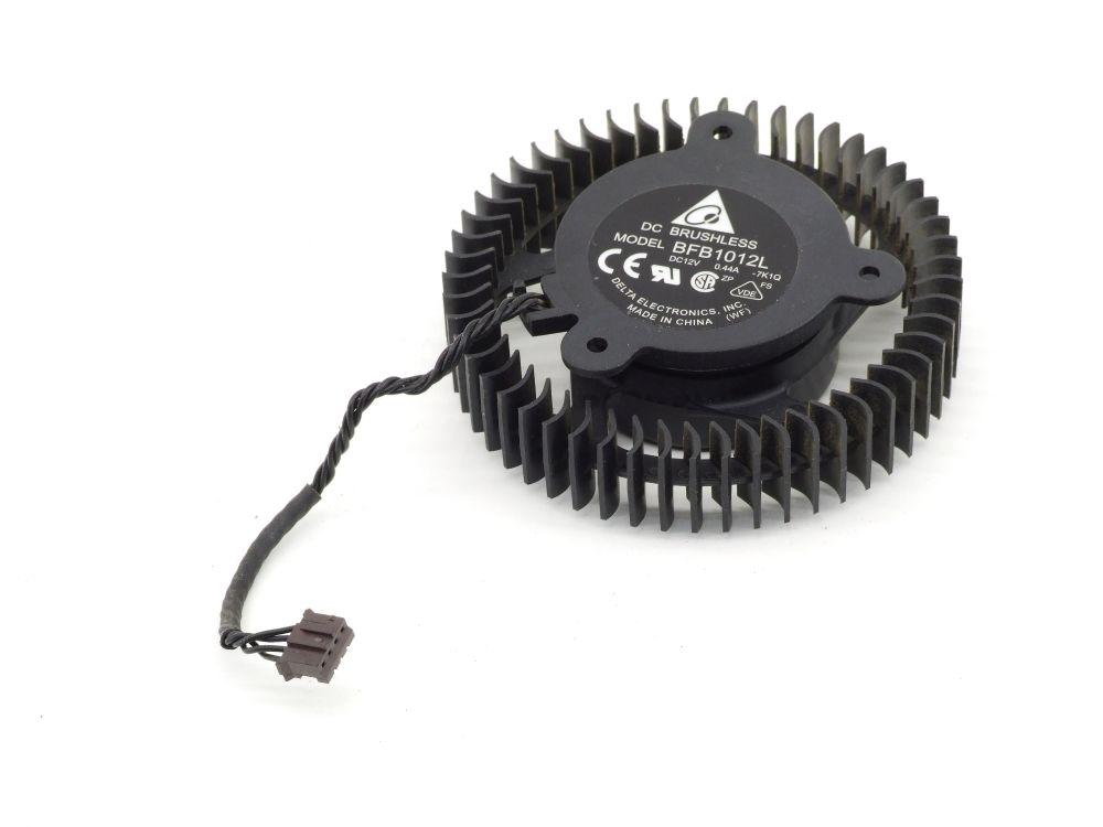 Delta BFB1012L 72mm PC Video Card GPU Cooling Fan Lüfter DC 12 Volt 0.44A 4-Pin 4060787295187