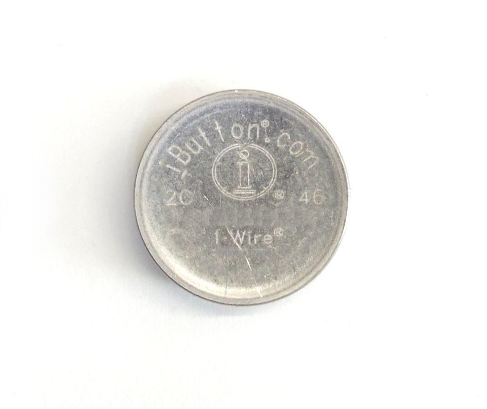 iButton Thermochron DS19210-F50 1-Wire Temperature Data Logger Device -40/85 °C 4060787296832