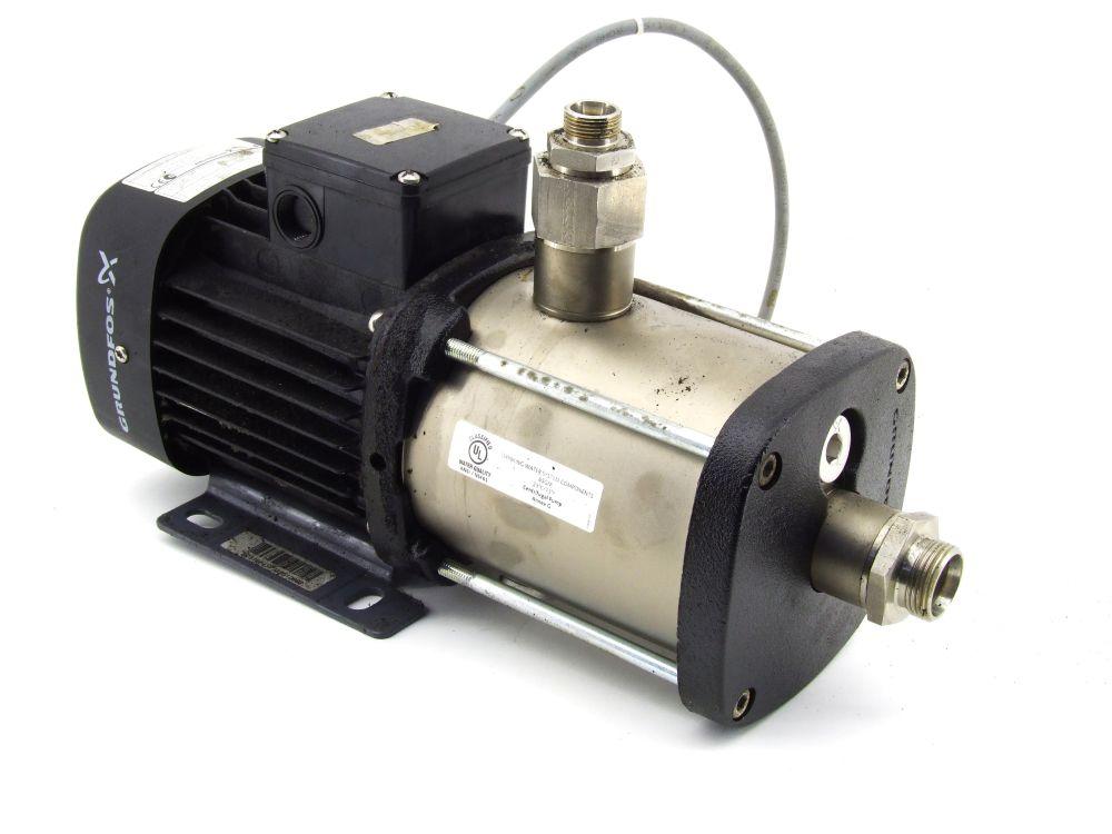 Grundfos CM1-7 Horizontale Kreisel-Pumpe A-R-G-E-A00E F-A-A-N 1.7m³/h 0.65 kW 4060787297181