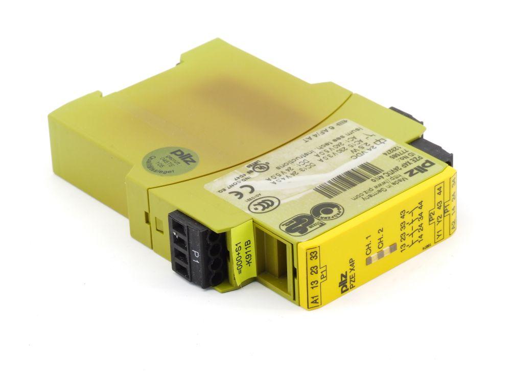 Pilz Kontakterweiterungs-Block Erweiterungs-Relais PZE X4P 24VDC 4n/o 777585 4060787306050