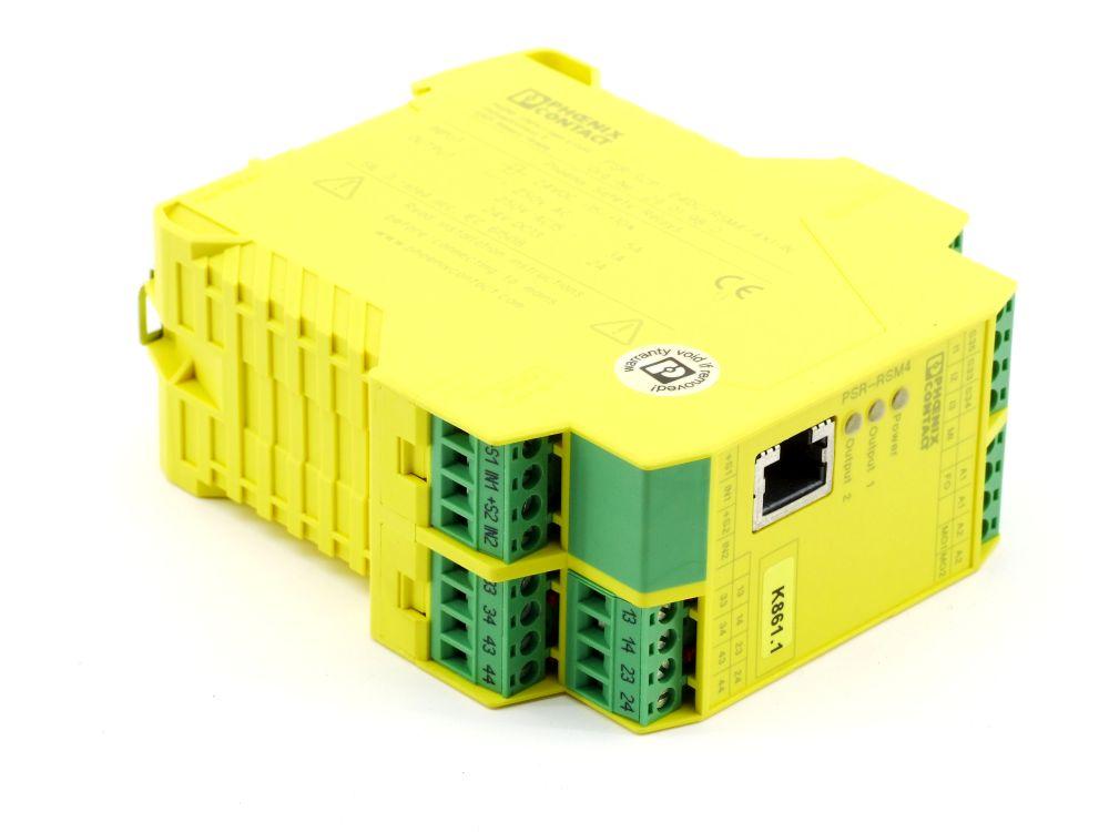 Phoenix Contact Sicherheits-Schaltgerät Safety Relays PSR-SCP-24DC/RSM4/4X1-IN 4060787306517