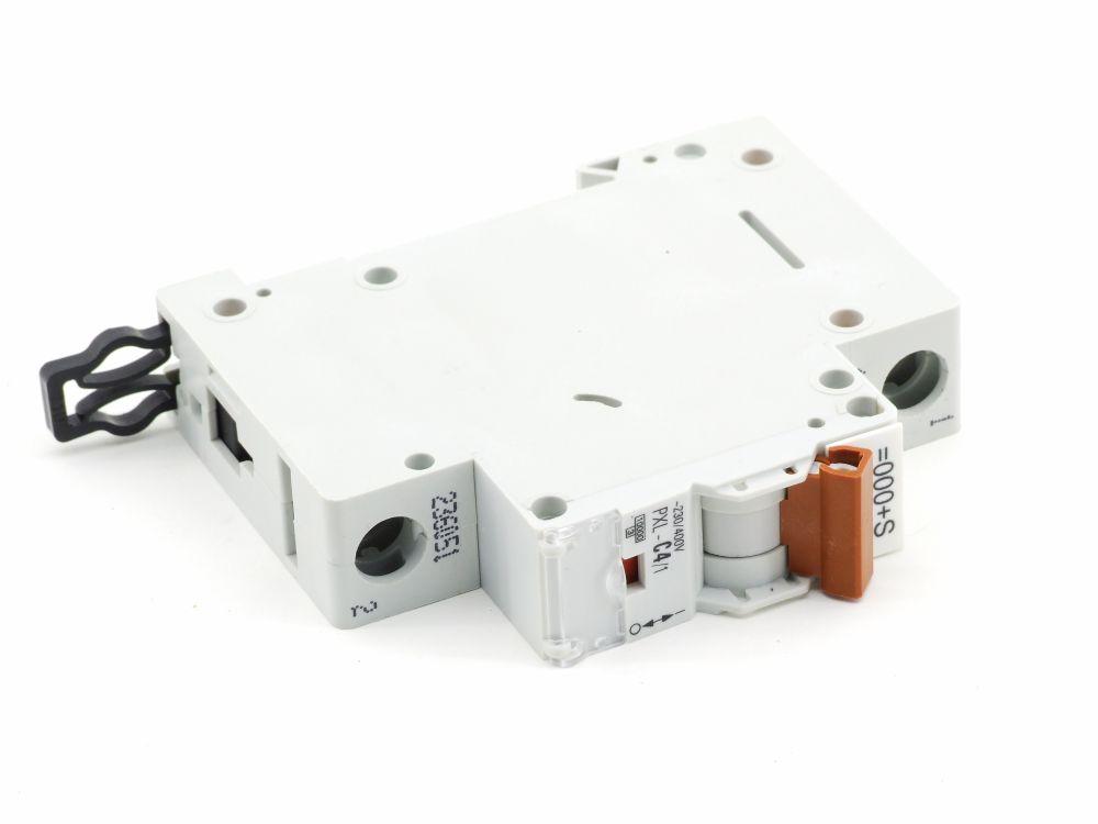 Eaton PXL-C4/1 Leitungs-Schutzschalter 4 Ampere Circuit Breaker 230/400V Moeller 4015082360511