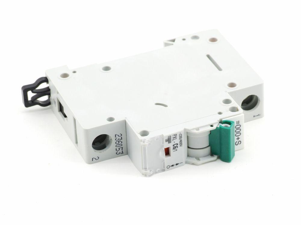 Eaton PXL-C6/1 Leitungs-Schutzschalter 1-polig 6A Charakteristik C 230/400V~ 4015082360535