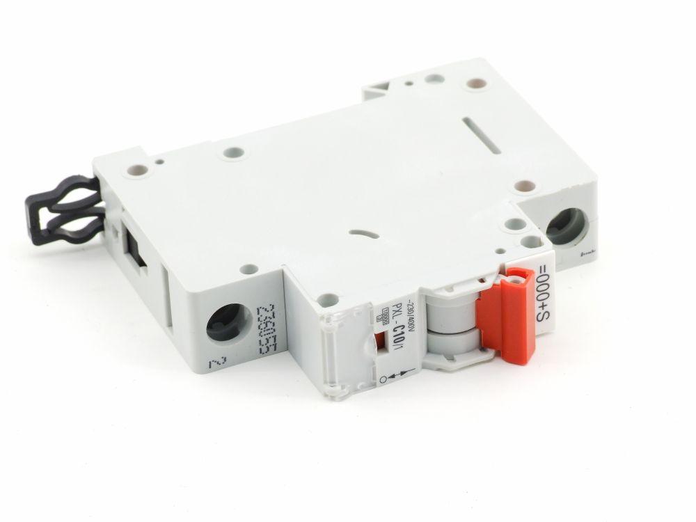 Eaton PXL-C10/1 Leitungs-Schutzschalter 1-Pole Circuit Breaker 10Amp 230/400V~ 4015082360559