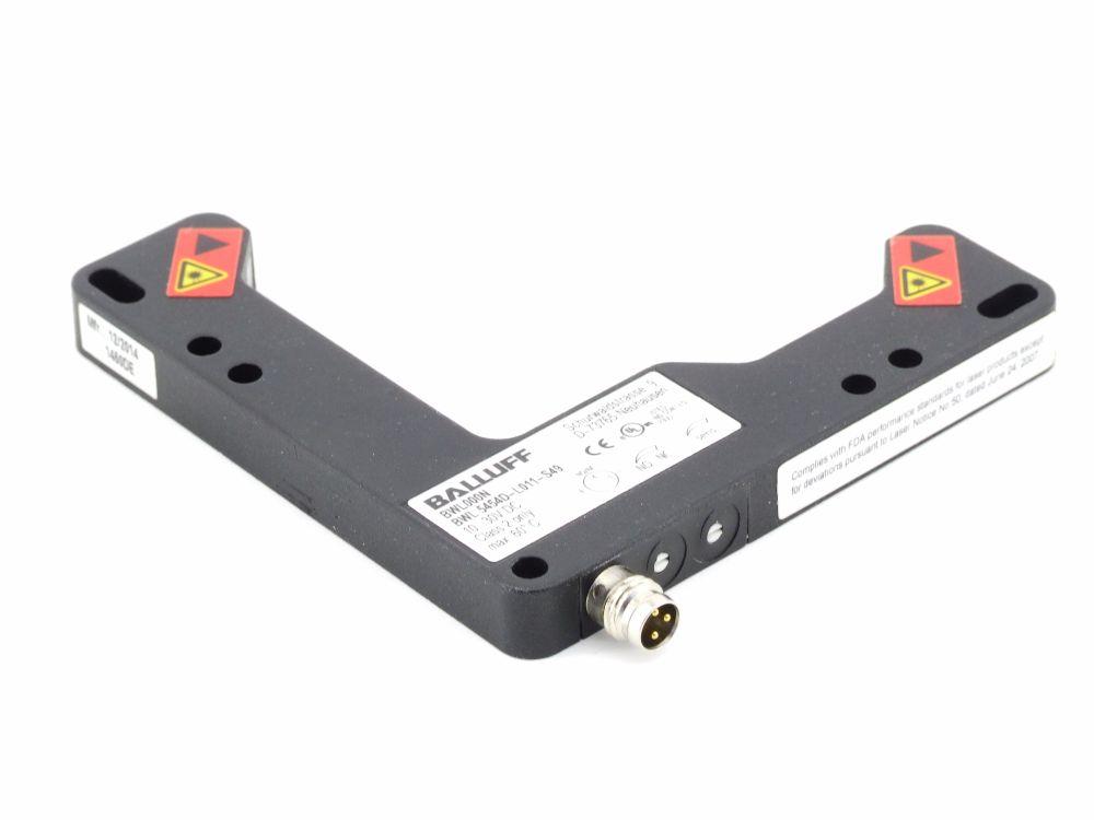 Balluff BWL000N Winkellichtschranke Angle Sensor M8 3-Pin S49 BWL 5454D-L011-S49 4060787320711
