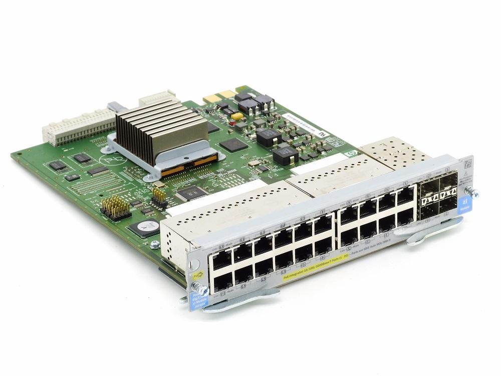 HP J8705A ProCurve 20-Port Gig-T PoE 4x SFP mini-GBIC Module 5064-2175 5406 zl 4060787323859