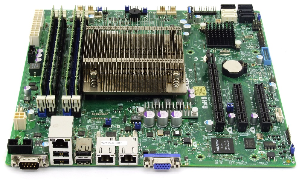 Supermicro X10SLL-F Server Mainboard Bundle Intel Xeon 4x 3.5GHz 32GB IPMI 2.0 Nicht zutreffend