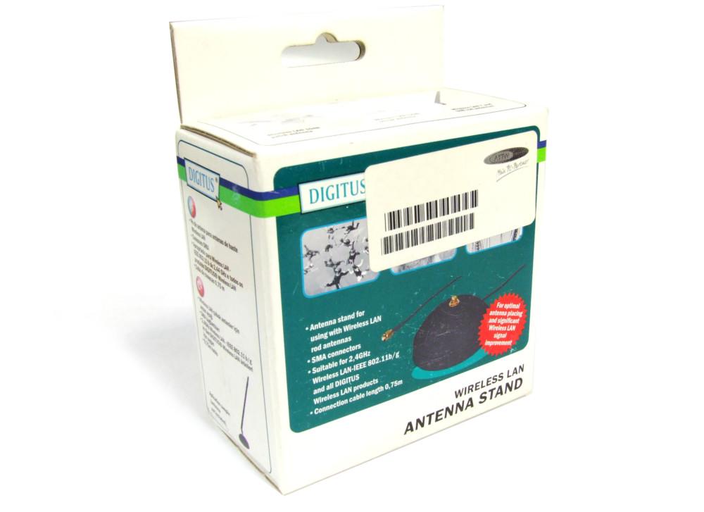 Digitus Antenna Stand Wireless LAN SMA Connectors IEEE 802.11b/g / Antennen-Fuß 4060787083128